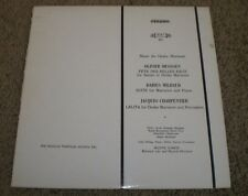 Music For Ondes Martenot Messiaen Milhaud Charpentier~MHS 821~VG++~FAST SHIPPING