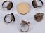 Pandahall 10 Pcs Réglable Antique Bronze Tone Brass Finger Ring bases...