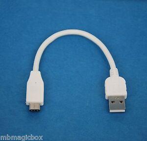 4-034-10cm-USB-2-0-tipo-A-a-C-Datos-Cargador-Cable-Blanco-para-LG-Nexus-5X-Huawei-6P