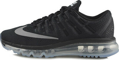 Nike Youth's AIR MAX 2016 (GS) NEW AUTHENTIC BlackReflect Silver 807236 001 | eBay
