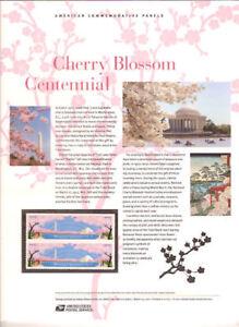 888-45c-Forever-Cherry-Blossom-Cent-4651-4652-USPS-Commemorative-Stamp-Panel