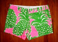 Lilly Pulitzer Pink Pout Flamenco Callahan 5 Short 4 8 10 14