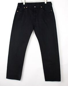 Vintage Levi's Strauss & Co Hommes 501 Jeans Jambe Droite Taille W38 L32