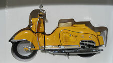 Moto ZUNDAPP BELLA ROLLER SCOOTER R204 SOLO Jaune 1/10 SCHUCO miniature