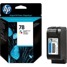 GENUINE BOXED 2017 DATE HP 78 C6578DE COLOUR INK CARTRIDGE 1ST CLASS FASTPOSTAGE
