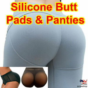Butt Padded Panties Brief Silicone Hip Enhancer BOOTY Removable Lift Push Up Set