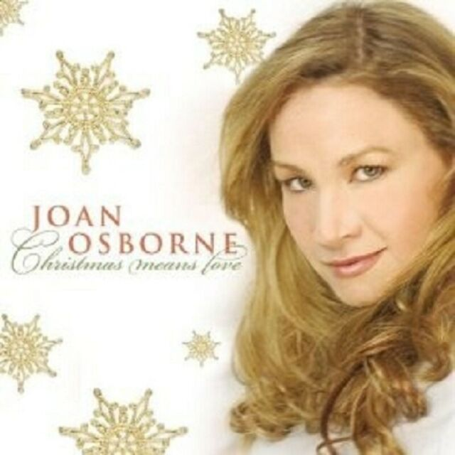 JOAN OSBORNE-CHRISTMAS MEANS LOVE CD ROCK 11 TRACKS NEW