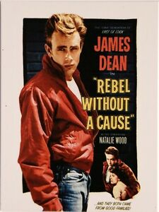 james dean nostalgie k hlschrank magnet 6x8 cm tin sign emag312. Black Bedroom Furniture Sets. Home Design Ideas