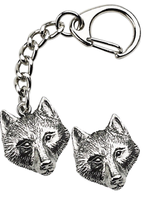 Wolf-Head-Key-ring-And-Pin-Badge-Boxed-Gift-Set-Handcrafted-In-Pewter