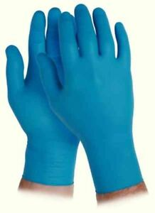 Kleenguard G10 Arctic Blue Safety Medium Gloves (Pack of 200) 90097 [KC90097]