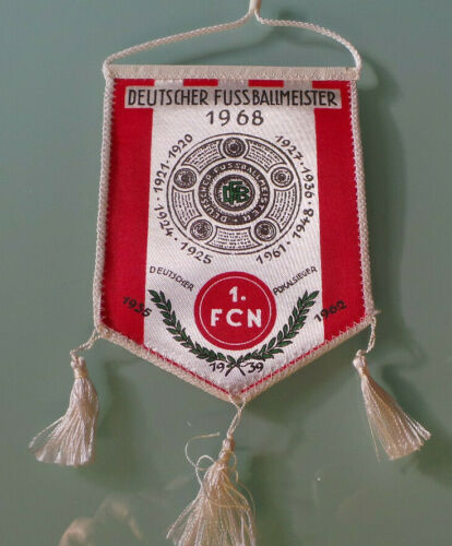 FC Nürnberg 1 Deutscher Rekordmeister 1920-1961 Wimpel