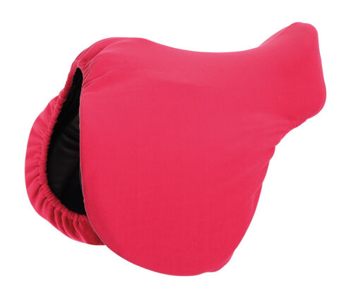 Shires Equestrian Horse Riding Lightweight Fleece Protection Saddle Cover ONE SI