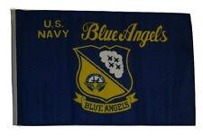 "12x18 12""x18"" U.S. Navy Blue Angels Sleeve Flag Garden"