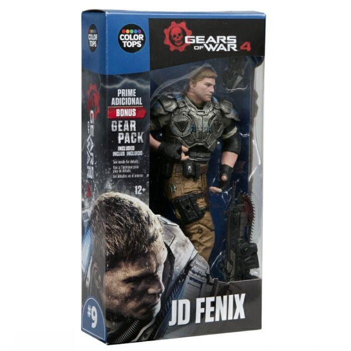 Color Mcfarlane Prendas para el torso Azul Wave-Gears of of of War 4 JD Fenix 7