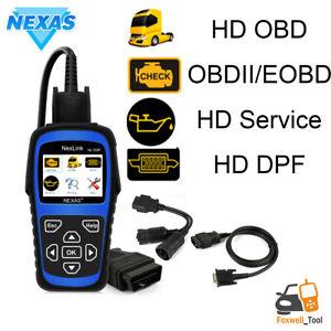 NEXAS NL102P HEAVY DUTY TRUCK DIAGNOSTIC SCANNER CAR CODE READER DPF OILRESET