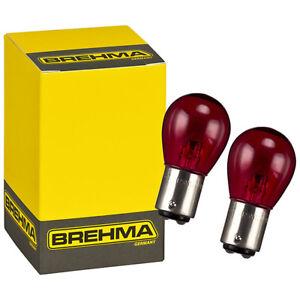 2x BREHMA PR21/5W Rote Rück- Bremslicht Lampe 21/5W BAW15D 12V