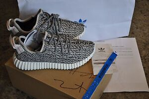 timeless design abb36 ac262 Image is loading Adidas-Yeezy-Boost-350-034-Turtle-Dove-034-