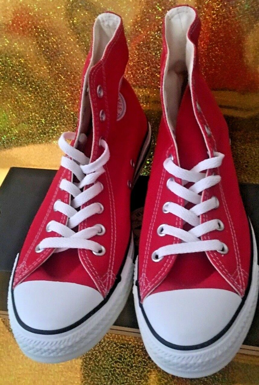 converse all star classic  red/white high size 5.5 men fits 7.5 women,canvas