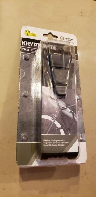 New Kryptonite TKO Folding Lock 100 Bike Lock Bicycle Lock Level 3 Security