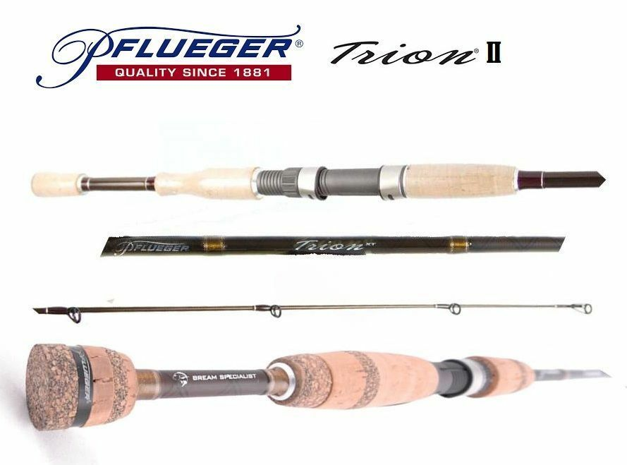 Pflueger Trion II PFLTII-SP6101XH Graphite Spin Rod 8-12 kg 6'10  1 Piece