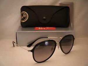 Ray Ban 4298 Black w Grey Gradient Lens NEW sunglasses (RB4298 601 ... 832d3a7e91