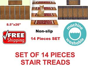 Rugsmart-Rubber-Backing-Skid-Resistant-Carpet-Stair-Treads-SET-OF-14