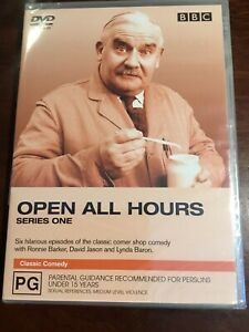 OPEN-ALL-HOURS-Series-One-Ronnie-Barker-New-Sealed-DVD-R4-PAL