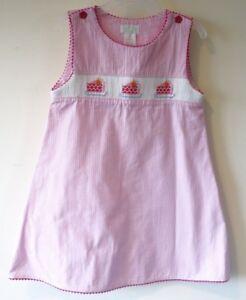 c2e9449c7f Collection Bebe by Vive La Fete Smocked Cake Dress   Jumper Girl s 5 ...