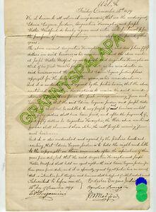1879 Letter-New York-JORDAN-RONEGLIA-MEDFORD-Partnership Manufacture Memorials