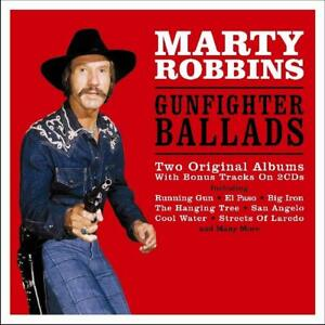Details about Marty Robbins ~ Gunfighter Ballads And Trail Songs + More +  Bonus Tracks NEW 2CD