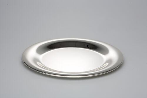Ø 31 cm anlaufgeschützt NEU Runder Platzteller versilbert glatt poliert