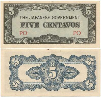 Currency Japan Philippines 1942 WWII  Occupation 10 Centavos Note Uncirculated