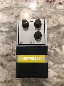 Tokai-TCO-1-Compressor-Sustainer-Rare-Vintage-Guitar-Effect-Pedal-MIJ-Japan