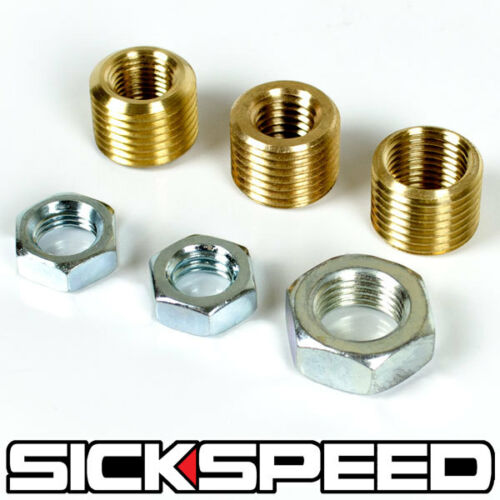 SICKSPEED SHIFT KNOB ADAPTOR STANDARD THREAD KIT SET FOR 1//2-20 3//8-16 3//8-24