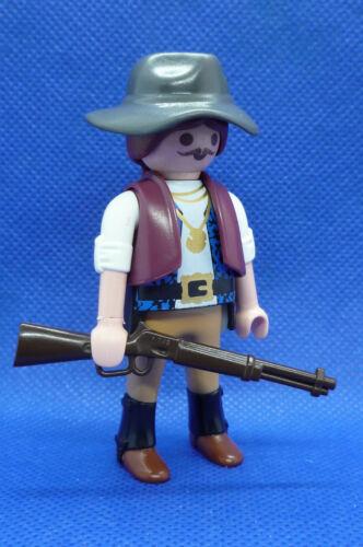 Playmobil J-84 Man Figure Gun Hat Steampunk Western Action Adventure