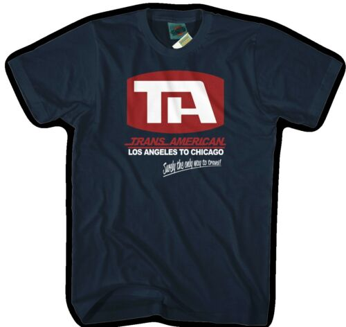 Men/'s T-Shirt AIRPLANE inspired TRANS-AMERICAN AIRLINES