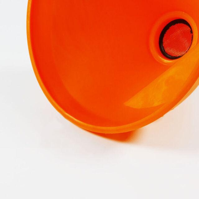Laser 4 Piece Funnel Set Oil Petrol Acid Resistant Spout Garage Workshop Tools