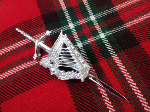 New Scottish Highland Celtic Irish Harp Kilt Pin//Irish Harp Kilt Pin//Kilt Pin