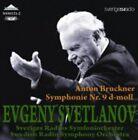 Svetlanov Swedish Radio Symphony Orchestra Bruckner Sinfonie 9 CD Weitblic