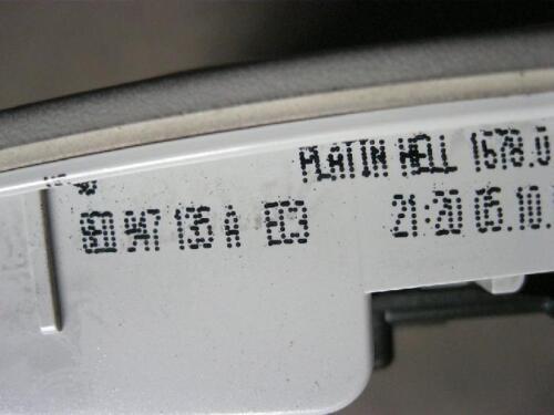 Éclairage Intérieur Liseuse Audi a4 b6 8e 8e0947135a ec3 éclairage