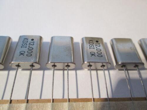 20 x quartz 12 MHz hc49//u quantités p 20 unités//piece = 2,98 € A sur ceinture boutique