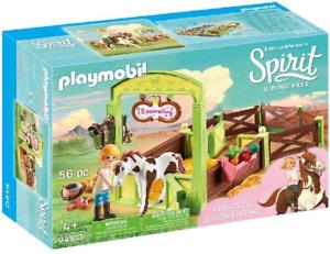 PLAYMOBIL DREAMWORKS Spirit 9480 Abigail e Boomerang con Cavallo Stalla per età