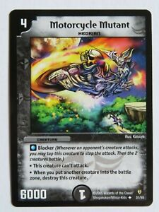 Duel Master TGC Motorcycle Mutant DM08 Epic Dragons of Hyperchaos