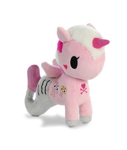 "Pink /& Silver - Unicorn Mermaid Novelty Plush Toys Mermicorno 8/"" Gelatina"