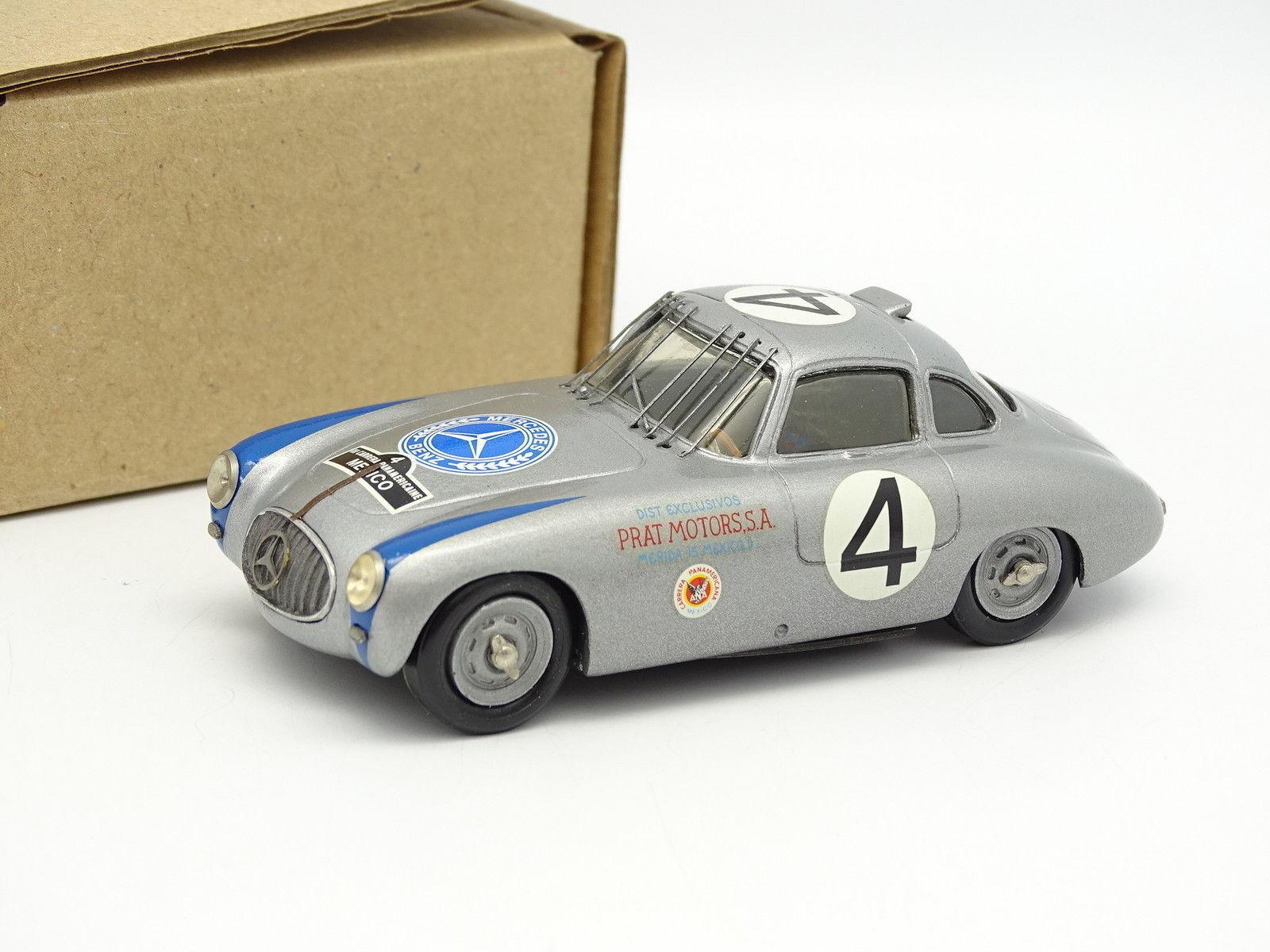 Rétro Bolides Kit Monté 1 43 - Mercedes 300 SL Panamericana 1952