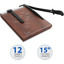 New Listingdetails A3 A4 Paper Cutter 12 X 15 Inch Metal Base Trimmer Scrap Booking Guil