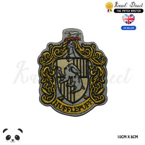 Harry-Potter-Hufflepuff-Large-Full-Embroidered-Iron-On-Sew-On-Patch-Badge