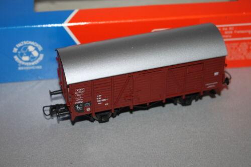 Roco 2-Trailer con cena vagones g20 toneladas techo DB corriente alterna Spur h0 OVP