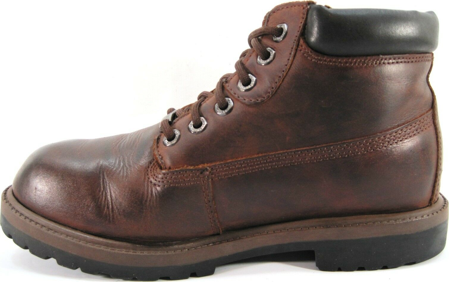 Skechers Men Work Euro Boots Size 9 Euro Work 42 Brown Water Proof Style 4442 8def80