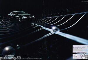 Publicité Advertising 2002 (2 pages) Mercedes Coupé Classe CLK